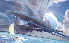 Picture ImagineFX, ocean outpost, Tutorial