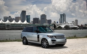 Picture Range Rover, with, color, exterior, matched, customized