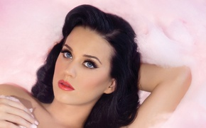Picture brunette, Katy Perry, singer
