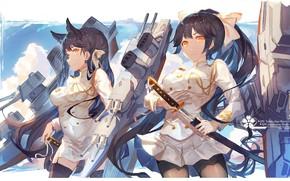Picture gun, game, military, weapon, big, war, anime, katana, pretty, ken, blade, oppai, uniform, bishojo, seifuku, …