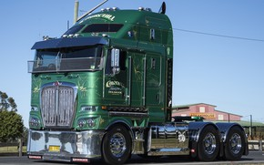 Picture green, Kenworth, K200, ghurchil