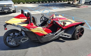 Picture beautiful, comfort, hi-tech, Polaris, Slingshot, technology, sporty, tricycle, 049, Mil Industries