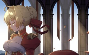 Picture Girl, anime, Fate / Grand Order, The saber