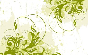 Picture Abstract, Green, design, background, Vector