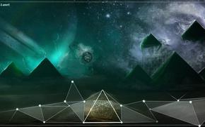 Picture pyramid, cover, orbit