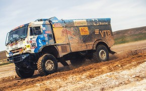 Picture Sand, Sport, Speed, Truck, Race, Master, Dirt, Russia, Kamaz, Rally, Dakar, KAMAZ-master, Dakar, Rally, KAMAZ, …