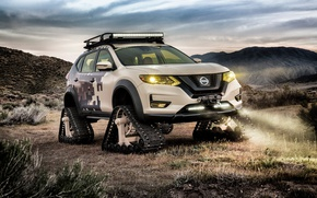 Picture car, concept, Nissan, Nissan Rogue Trail Warrior Project