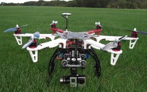 Picture vegetation, technology, drone, high technology, quadcopter, high tec, dji flamewheel