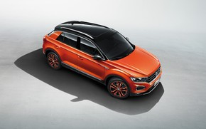 Picture Volkswagen, the view from the top, 2018, crossover, 4Motion, T-Roc
