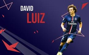 Picture vector, Brazil, player, David Luiz Moreira Marinho, David Luiz