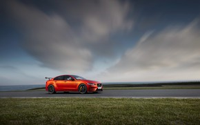 Picture car, Jaguar, sky, vegetation, Jaguar XE SV Project 8