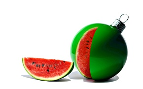Picture macro, toy, watermelon
