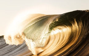 Picture light, nature, the ocean, wave