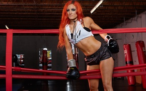 Wallpaper Boxing, WWE, Becky Lynch, Rebecca Knox, Becky Lynch, Wrestling, pear, gym, the ring, gym, wrestler, ...