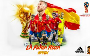 Wallpaper The World Cup, Spain, 2018, football