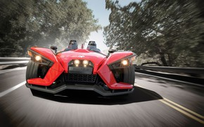 Picture beautiful, comfort, hi-tech, Polaris, Slingshot, technology, sporty, tricycle, 005
