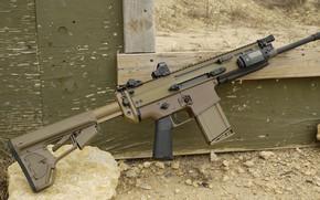 Picture weapons, machine, weapon, custom, assault rifle, SCAR-H, SCAR, assaul rifle