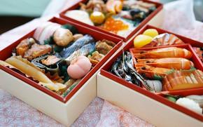 Picture food, fish, shrimp, seafood