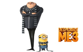 Picture animated film, Gru, minion, animated movie, Despicable Me 3, Minion Despicable Me