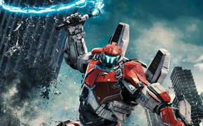 Picture Action, Fantasy, Robots, Legendary Pictures, Machine, Big, year, 2018, Large, EXCLUSIVE, Pilot, Jake, Movie, Battle, …