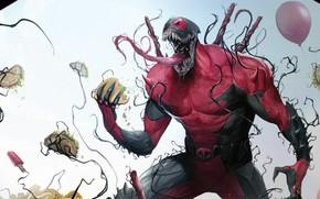 Picture Language, Balls, Balls, Teeth, Costume, Comic, Balls, Food, Deadpool, Marvel, Deadpool, Comics, Venom, Venom, Symbiote, …
