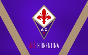 Picture wallpaper, sport, logo, football, Italia, Serie A, Fiorentina