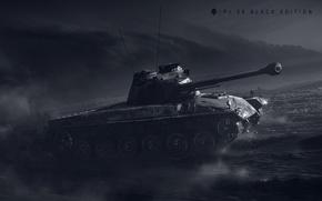 Wallpaper WoT, World of Tanks, World Of Tanks, Wargaming Net, Pz.58 Black Edition, Tank 58 Mutz