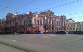 Picture Saint Petersburg, Yusupov Palace, Anichkov bridge