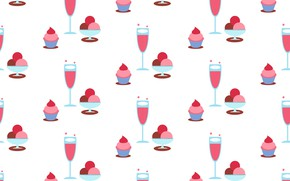 Picture background, Wallpaper, texture, dessert