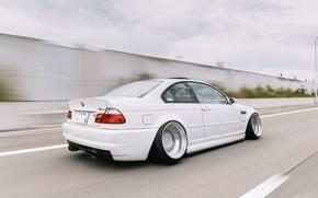 Picture Auto, Road, White, BMW, Machine, BMW, Car, E46, BMW M3, Rides, German, BMW E46, BMW …