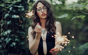 Picture lights, glasses, neckline, sponge, Gaetan Habrand, Magical Light