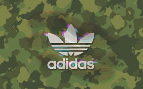Picture Logo, Adidas, Logo, Adidas, Firm, Camouflage