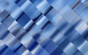 Picture light, background, texture, picture, metallic luster, blue foil, the intertwining ribbons