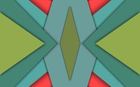 Picture triangles, diamonds, symmetry