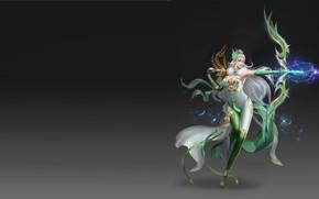 Wallpaper the game, Archer, fantasy, art, hunter, shooter, costume design, Sun Zhen
