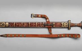 Wallpaper Wandalska era, Sword, Meroving