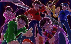 Picture anime, art, guys, Osomatsu-San