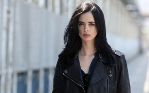 Wallpaper woman, brunette, Marvel Comics, Netflix, Krysten Ritter, The Defenders, Marvel's Jessica Jones, Marvel's The Defenders