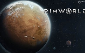 Picture the game, planet, game, space, RimWorld