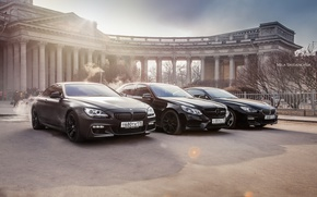 Picture car, machine, auto, sunset, bridge, city, fog, race, bmw, BMW, car, mercedes, sports car, car, ...