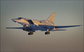 Wallpaper bomber, far, Tu-22M3