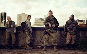 Picture cinema, gun, weapon, survivor, movie, film, rifle, Gemma Arterton, Tavor, Paddy Considine, IMI Tavor TAR-21, …
