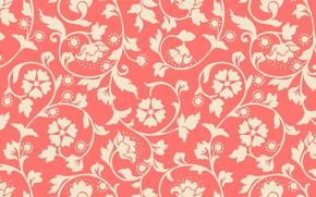 Wallpaper Pattern, Texture, Flowers, Background