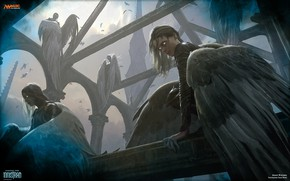 Picture Magic the Gathering, Always Watching, Innistrad, Ghase Stone