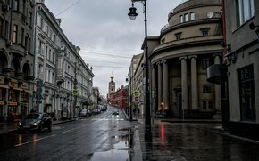 Picture street, Moscow, Petrovka