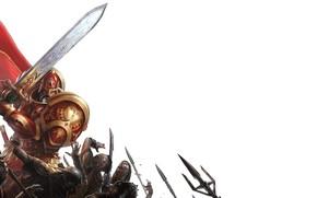 Picture Armor, Sword, Helmet, Ilya Muromets, Roman Papsuev, Tales Of Old Russia, Hero