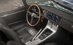 Wallpaper concept, electric car, Jaguar, 2017, Jaguar E-type Zero, lectrosoul, prototype, Jaguar