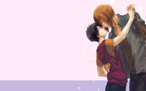 Picture background, romance, two