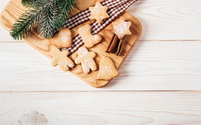 Picture balls, New Year, cookies, Christmas, gifts, happy, Christmas, wood, New Year, Merry Christmas, Xmas, gift, …