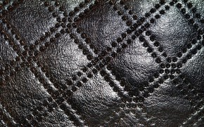 Picture ornament, surface, leather
